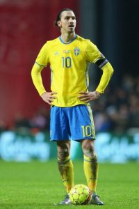Zlatan Ibrahimovic tiene 34 años Foto:Getty Images