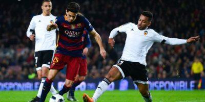 Barcelona humilló 7-0 al Valencia en el partido de ida de las semifinales Foto:Getty Images