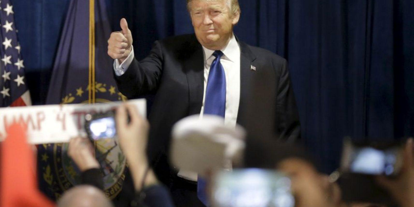 Con el apoyo del Partido Republicano. Foto:AP