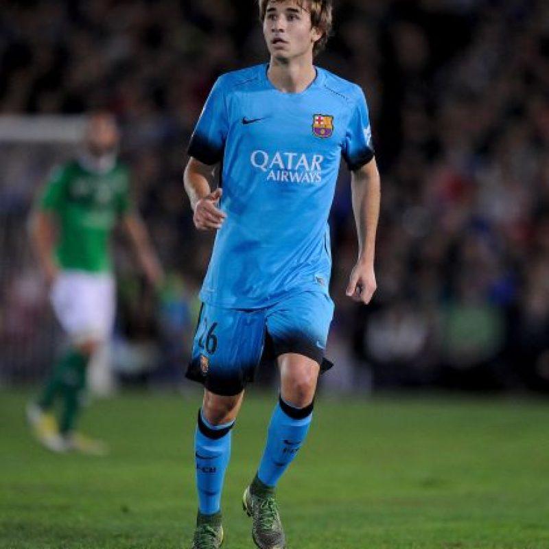 Los juveniles llamados por Luis Enrique: Sergi Samper Foto:Getty Images