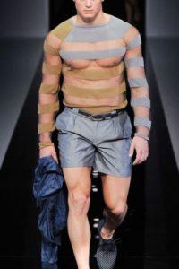 Pocos se atreven a usar prendas presentadas en las semanas de moda menswear. Foto:vía Getty Images