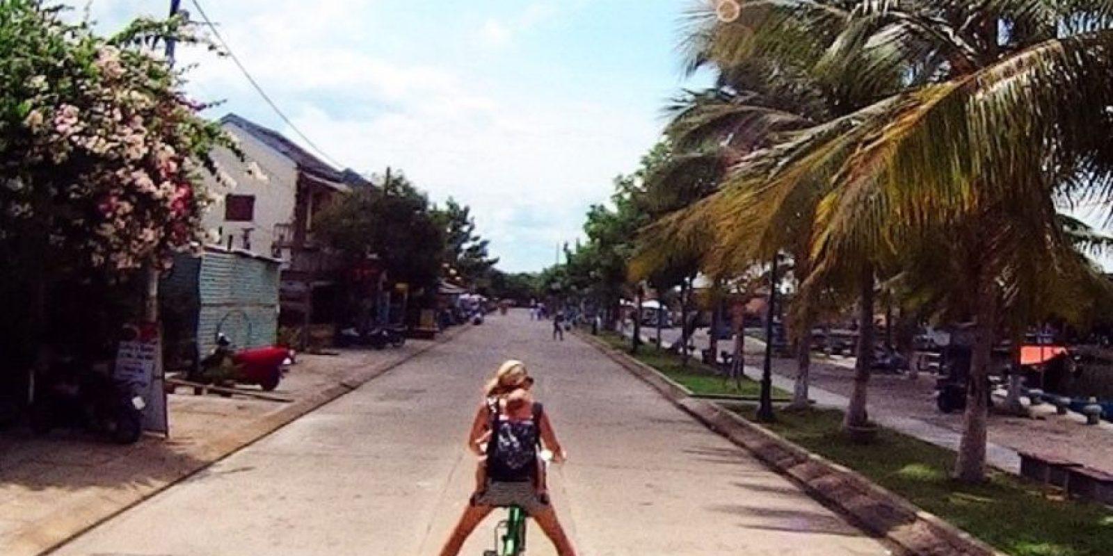 Karen Edwards, su madre, asegura que ha sido una de las mejores experiencias. Foto:instagram.com/travelmadmum/