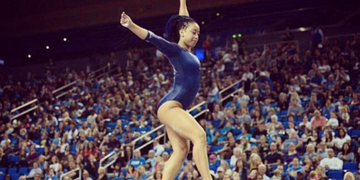 Sophina DeJesus: La gimnasta rapera que se volvió viral con su original rutina