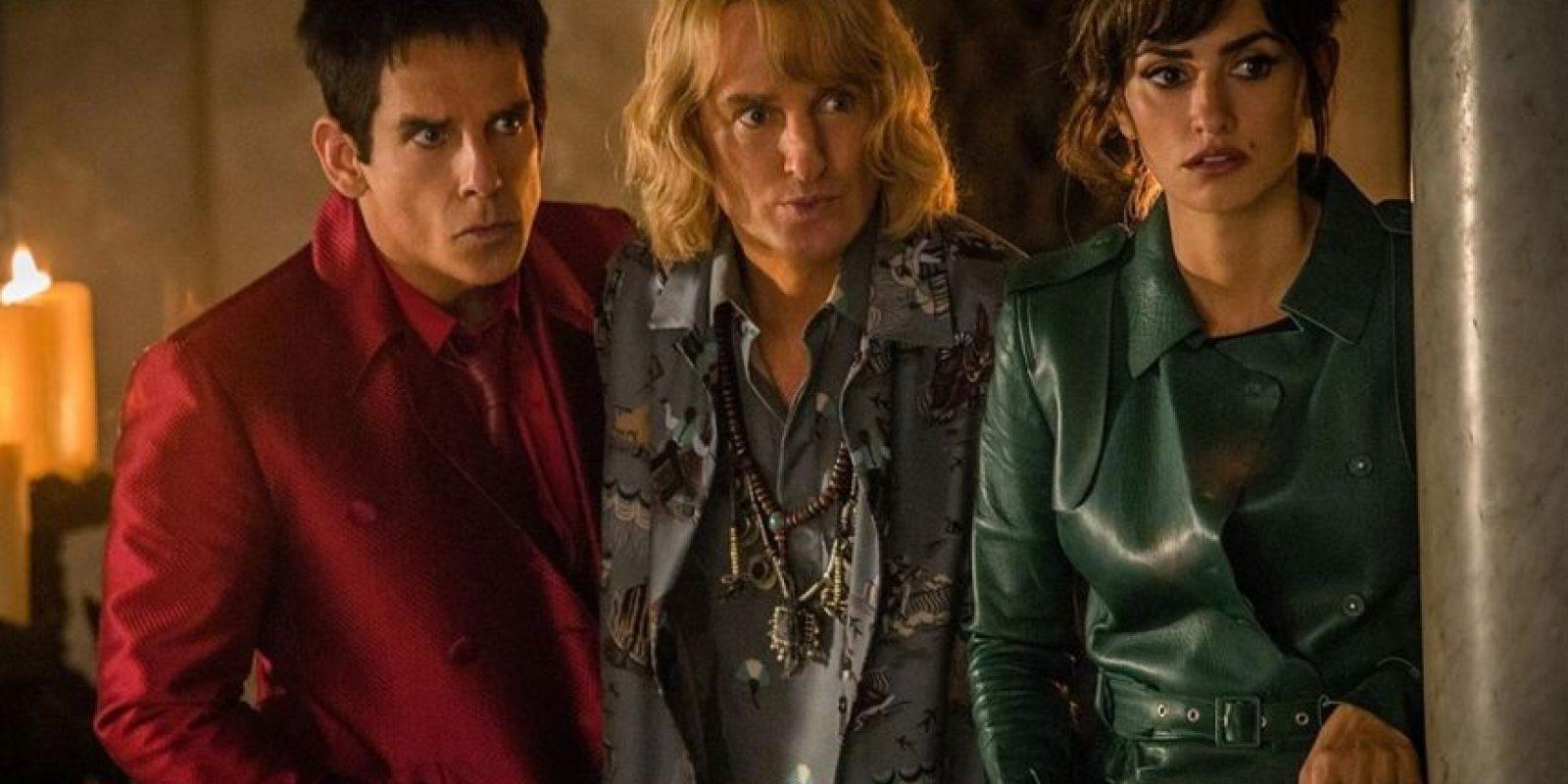 Ben Stiller, Owen Wilson y Penélope Cruz sacarán risas en una de las películas más esperadas del año. Foto:Caribbean Cinemas