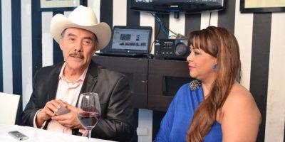 Pedro Rivera junto a la dominicana Jaqueline Estévez Foto:Mario de Peña