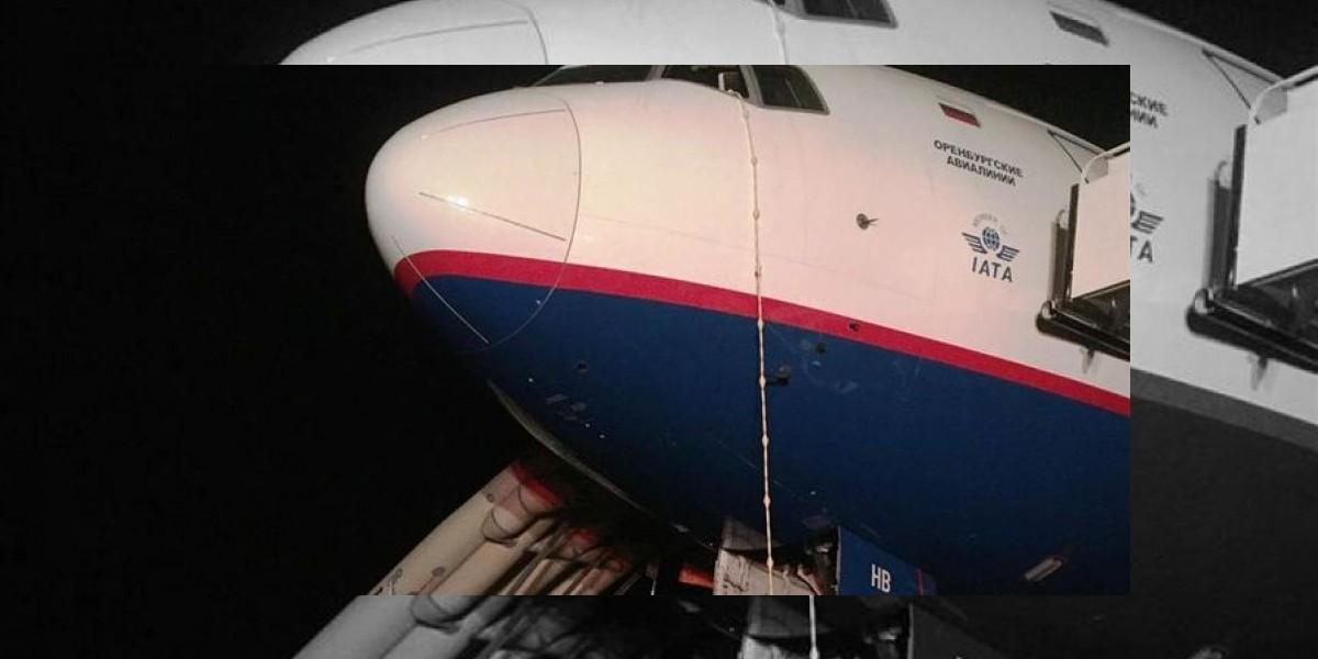 Regresa a Punta Cana avión con destino a Moscú que tuvo problemas en motor