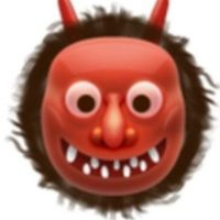 10- También usado para representar al demonio, aunque en verdad es un ogro japonés. Foto:Vía emojipedia.org