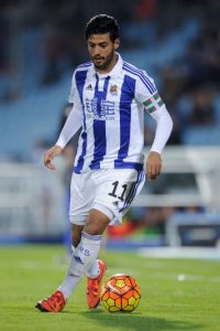 Delantero mexicano de la Real Sociedad Foto: Getty Images