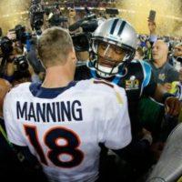 Venció a Cam Newton, mariscal de campo de Carolina Panthers, el MVP de la temporada regular Foto:Getty Images