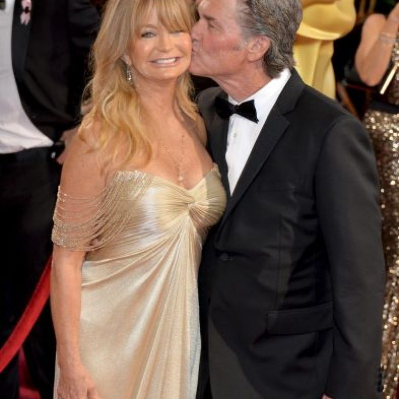 Goldie Hawn y Kurt Russell Foto: Getty Images