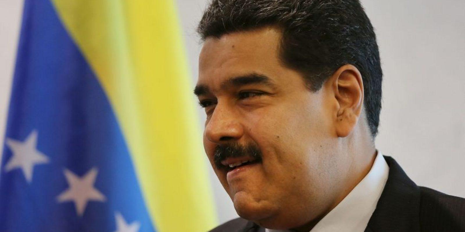 En caso de tener doble nacionalidad, Maduro no podría ser presidente de Venezuela. Foto:Getty Images