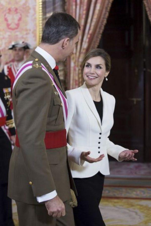 Rey Felipe VI y Letizia Ortiz Foto:Getty Images