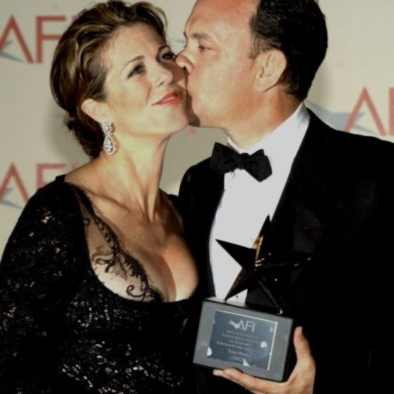 Tom Hanks y Rita Wilson Foto: Getty Images