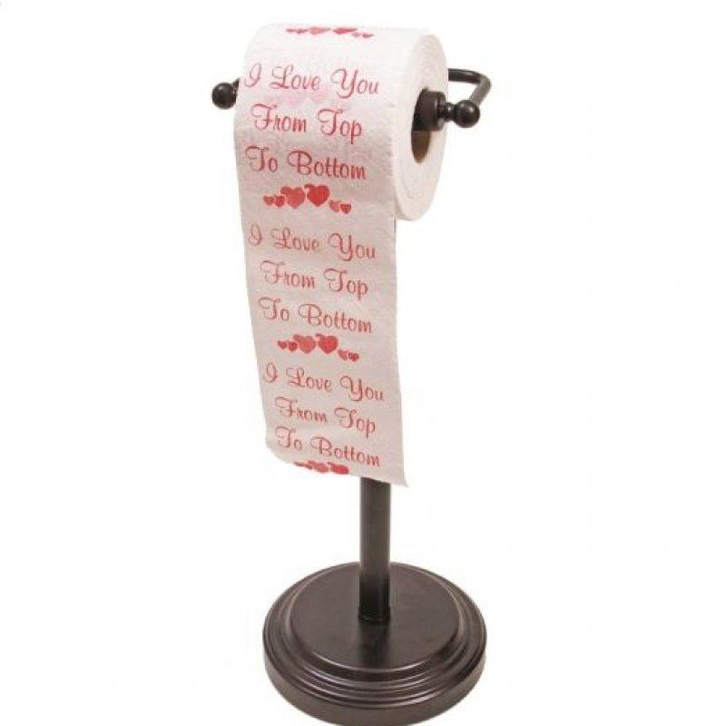 4- Peor regalo. Papel higiénicoA pesar de que esté decorado con motivos del Día de San Valentín, un rollo de papel higiénico metafóricamente sugiere que su relación va por el inodoro. Foto:Flickr creative commons