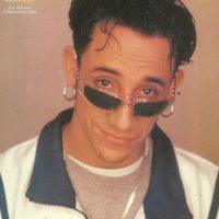 """A.J, de los """"Backstreet Boys"""", era así en sus comienzos. Foto:vía eBay"""