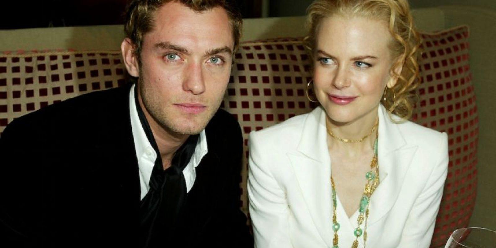 Jude Law se disputaba con Orlando Bloom el título de actor británico más sexi de 2000. Foto:vía Getty Images