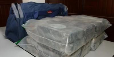 DNCD decomisa 24 kilos de cocaína en Aeropuerto del Cibao