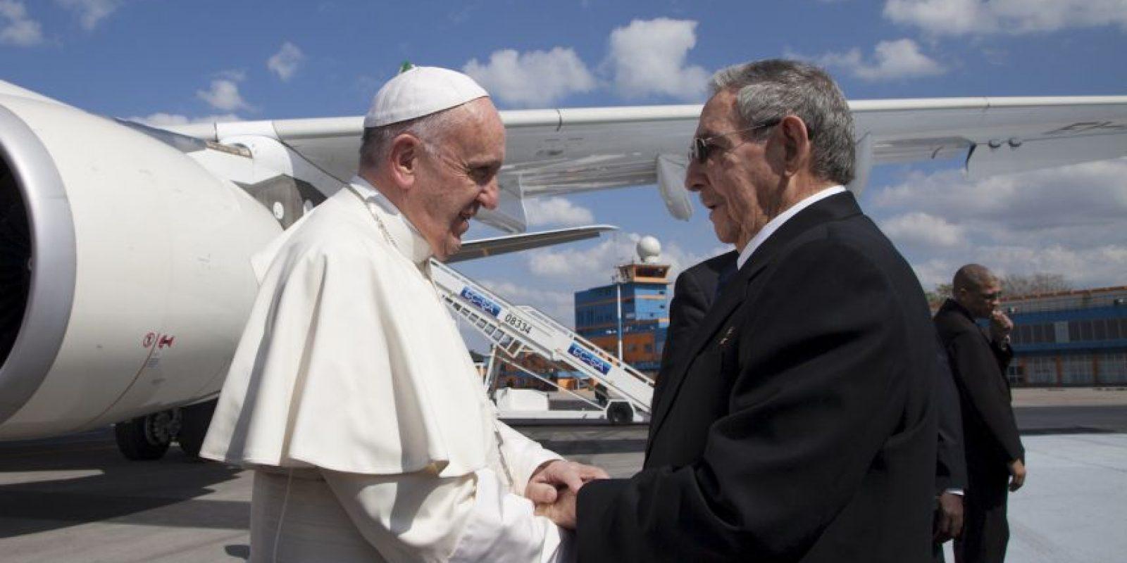 Antes de llegar a México hizo una escala en Cuba Foto:AP