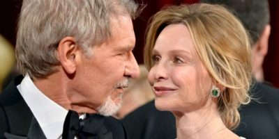 4- Harrison Ford y Calista Flockhart. Foto: Getty Images