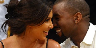 Kim Kardashian y Kanye West Foto: Getty Images