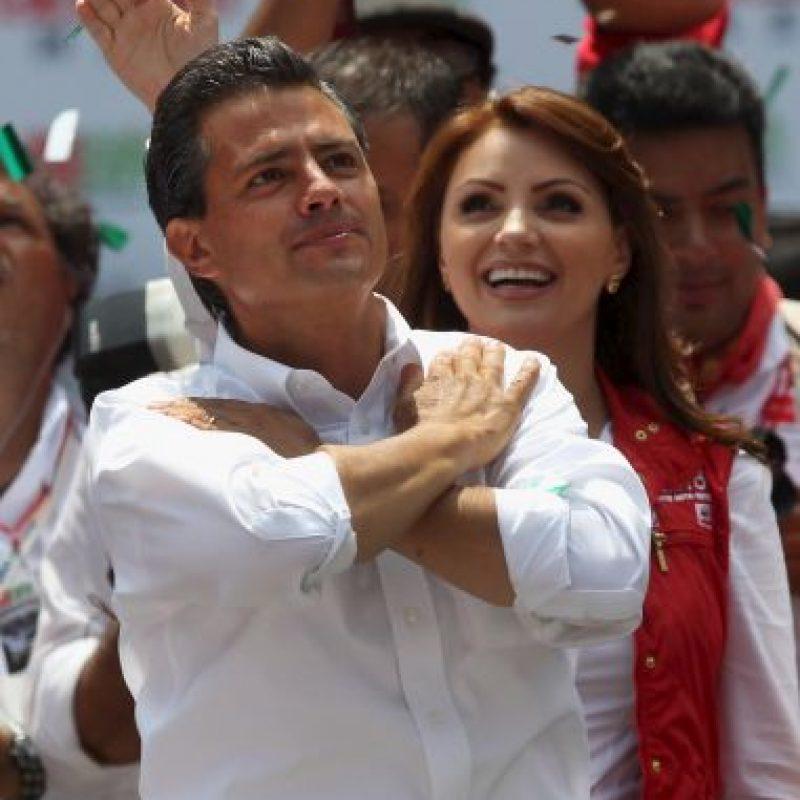 México: Enrique Peña Nieto y Angélica Rivera Foto:Getty Images