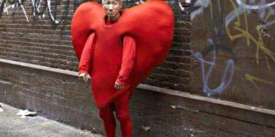 Vestirse de corazón está de moda Foto:Know Your Meme