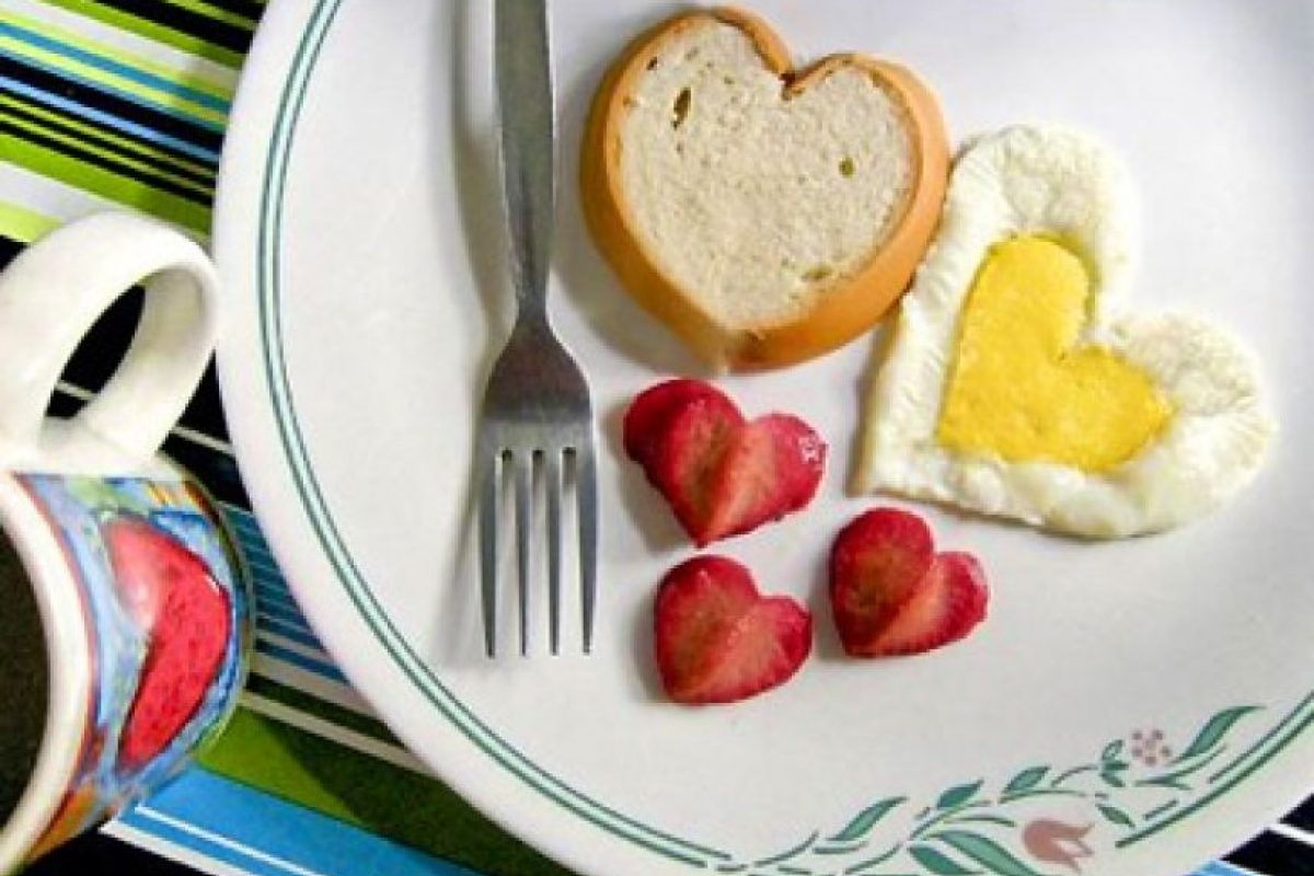 Comida en forma de corazón Foto:Funny Pics