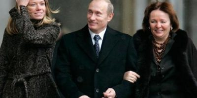 Vladimir Putin y Yekaterina Putina Foto:Twitter