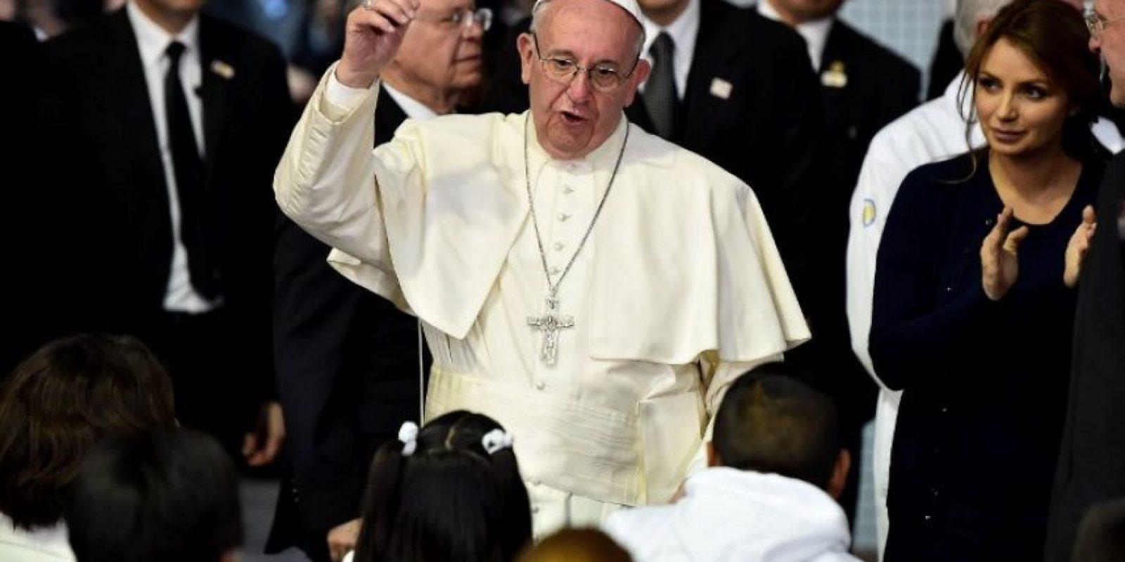 Tras la renuncia de Benedicto XVI, fue elegido el 13 de marzo de 2013. Foto:Getty Images