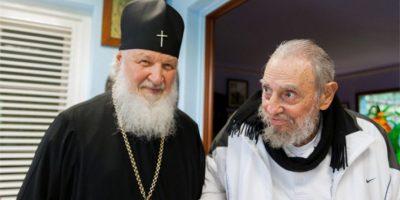 Tras reunión con el Papa, patriarca ortodoxo visitó a Fidel Castro