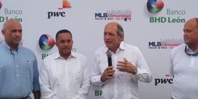 Rafael Pérez, Ramón Ogando, Jorge Besosa y William Owens. Foto:Fuente externa