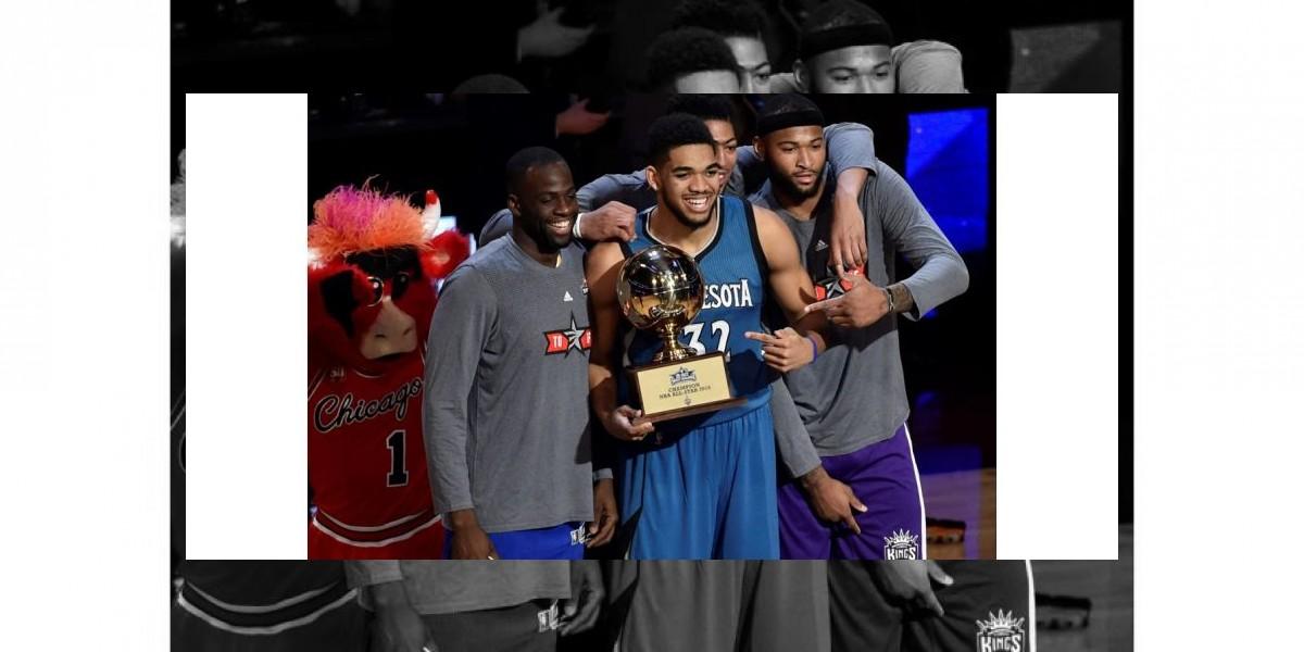 Concurso: Karl Towns sigue avance en NBA al ganar en habilidades