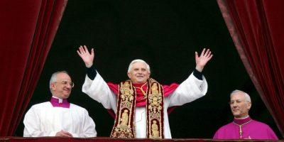 Resultó elegido el 19 de abril de 2005 tras el fallecimiento de Juan Pablo II. Foto:Getty Images