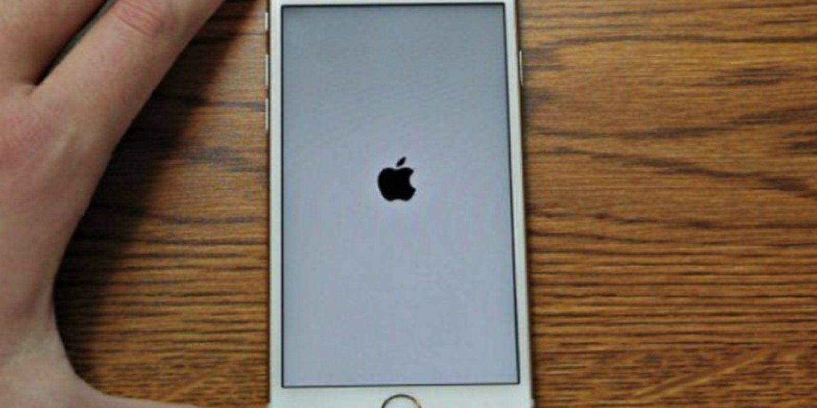 Un error en el iPhone provoca que se quede en la pantalla del logo de Apple. Foto: Vía Zach Straley/YouTube