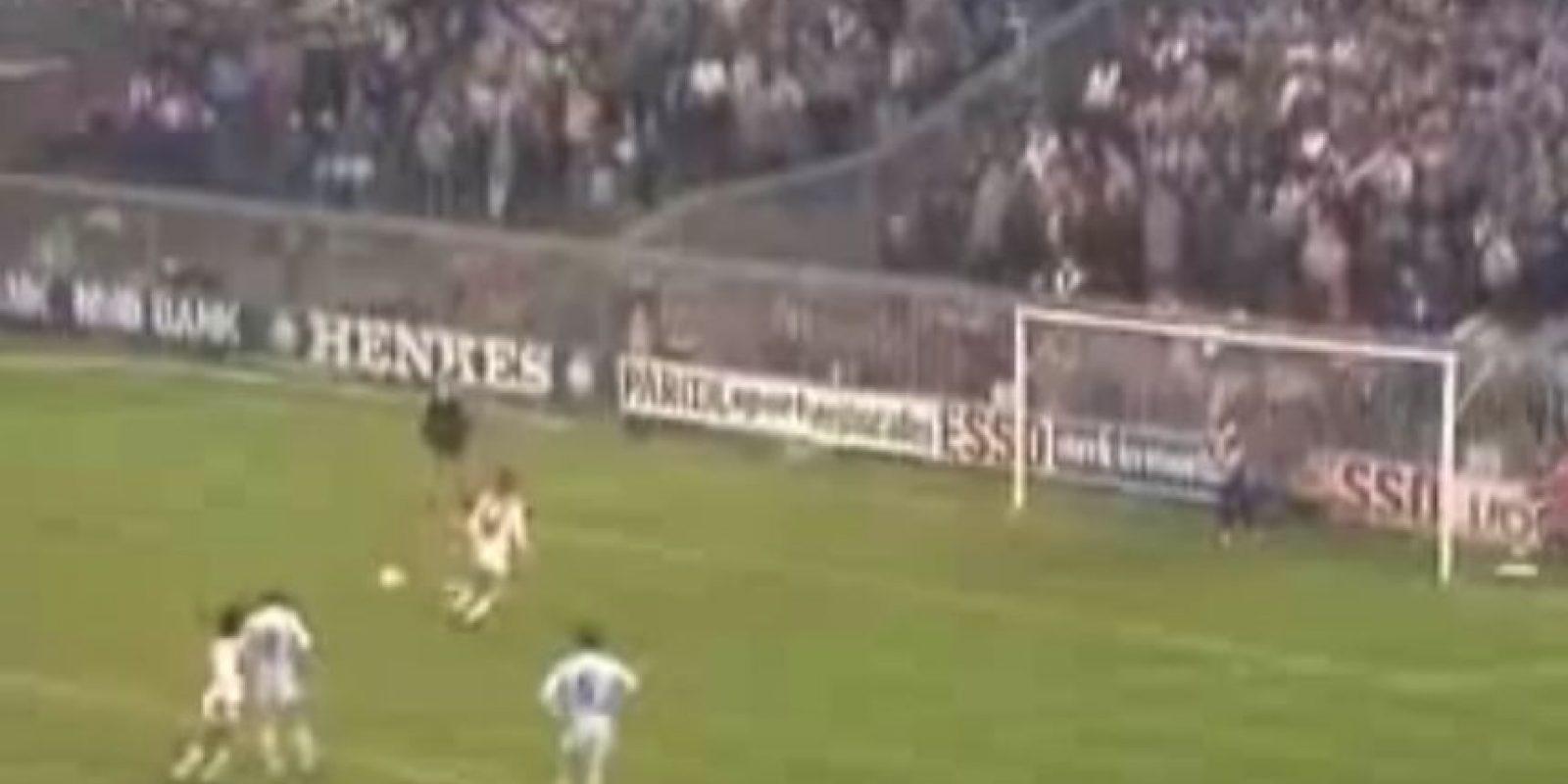"""Aunque algunos llamaron la jugada como """"El gol a lo Cruyff"""" Foto:Twitter"""