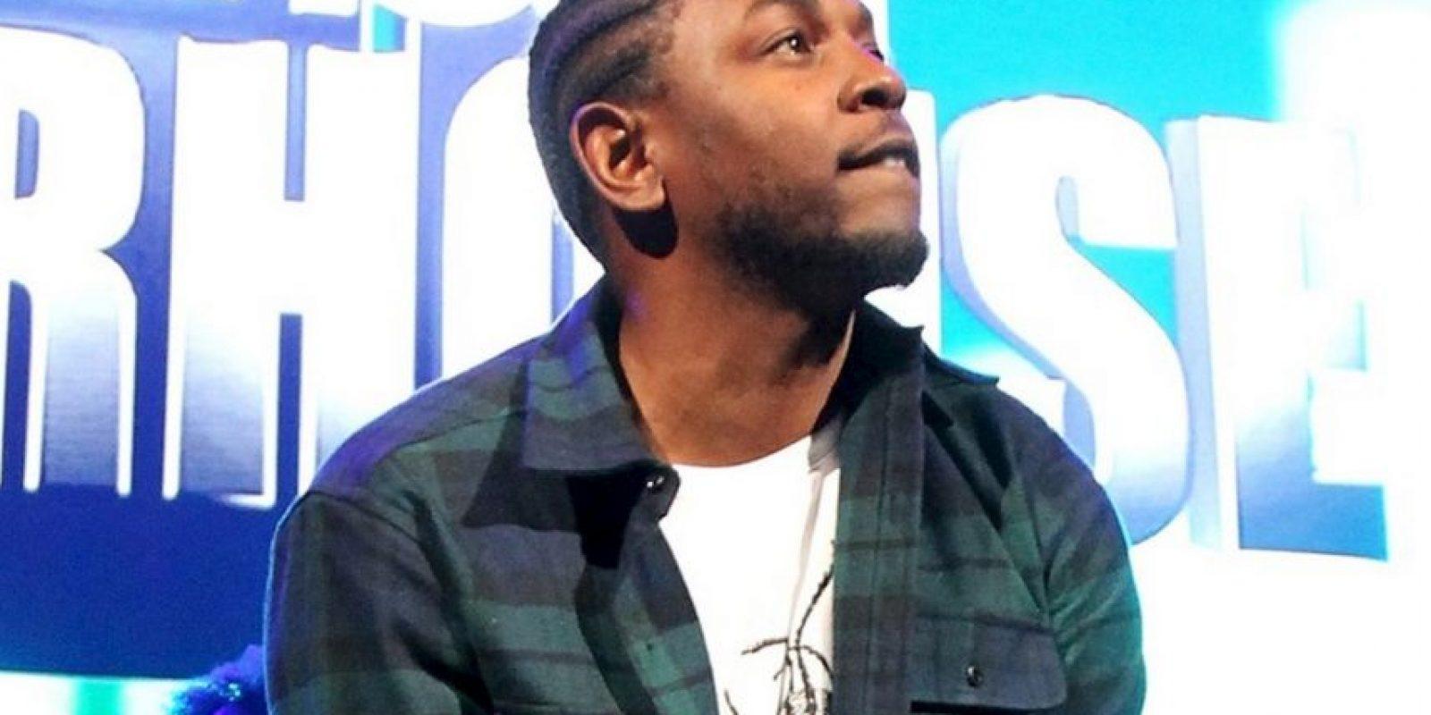 El rapero Kendrick Lamar es una de las cartas fuertes de la industria musical en el último año. Foto:Getty Images