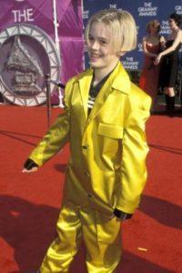 """Aaron Carter como """"La Máscara"""" en 1999. Foto:vía Getty Images"""