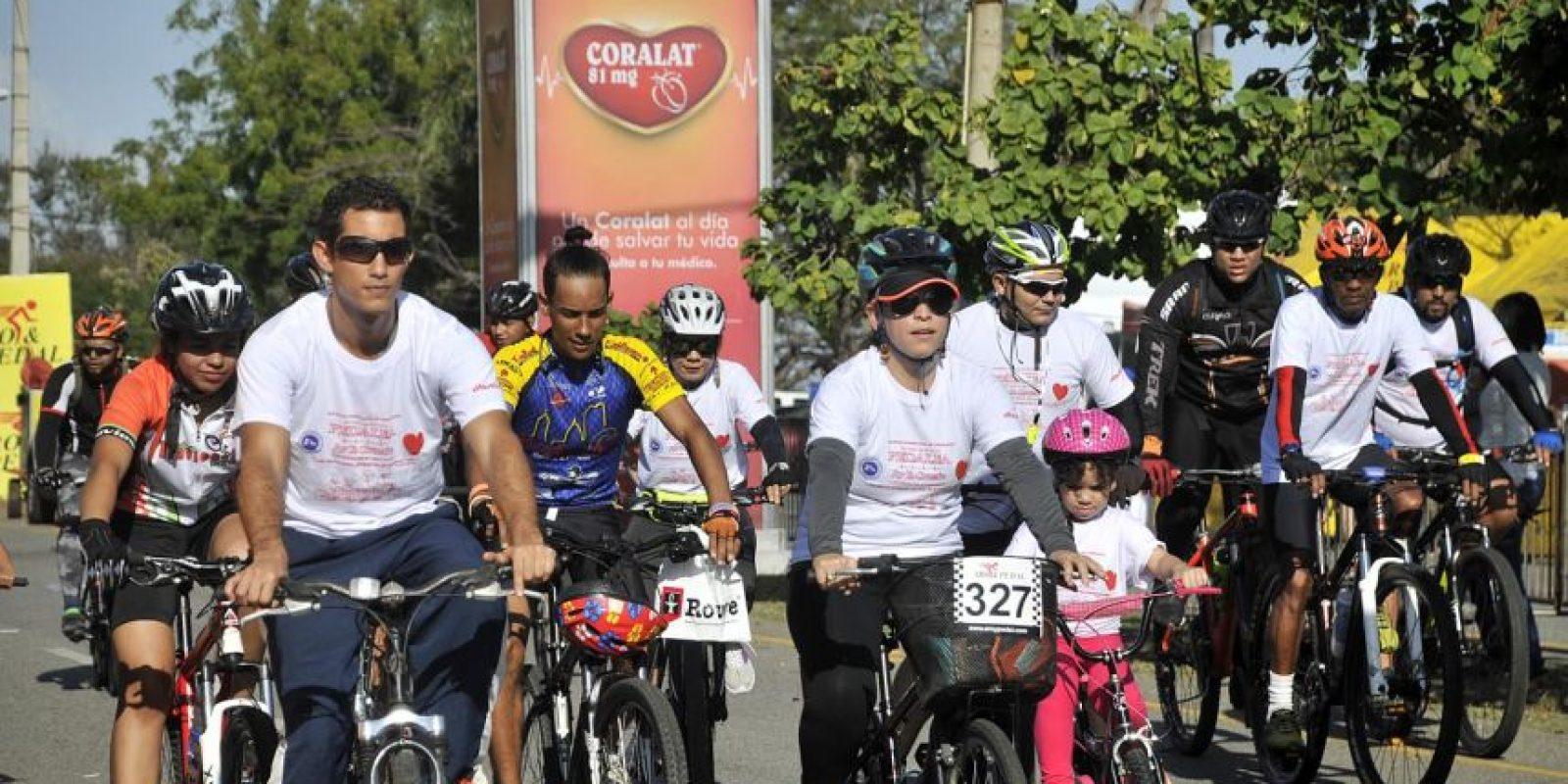 """El evento """"Pedalea por tu corazón"""" promueve la integración familiar con actividades saludables. Foto:Fuente Externa"""