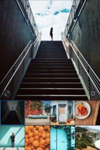 5- Instagram. Pueden transformar sus fotos y videos de todos los días para compartirlos con sus amigos y familiares. Les permite editar sus imágenes con filtros y de diseño personalizado 10 herramientas creativas avanzadas para cambiar el brillo, el contraste, la saturación, las sombras, el resaltado y la perspectiva.Disponible para iOS y Android.