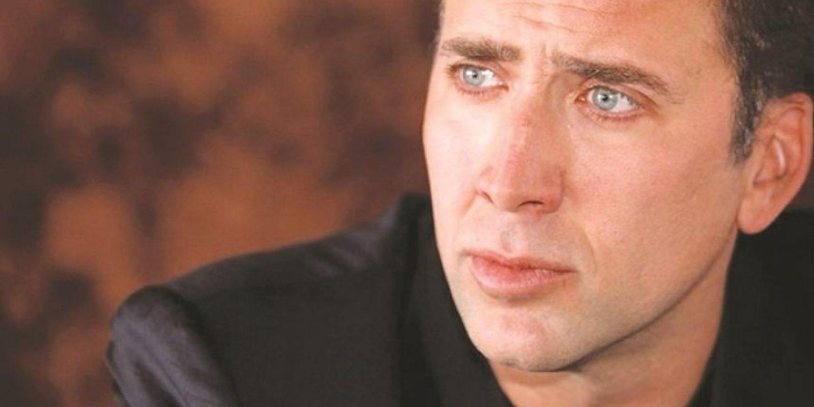 4- Nicolas Cage. El actor estuvo muy cerca de ser una extraña versión de Supermán en la cinta de Tim Burton, Superman Lives. Después de haber sufrido muchos retrasos por cuestiones financieras en Warner Bros., el actor salió del proyecto en 2000. La historia de la película que nunca fue producida está documentada en el filme The Death of Superman Lives: What happened? Foto:Fuente Externa