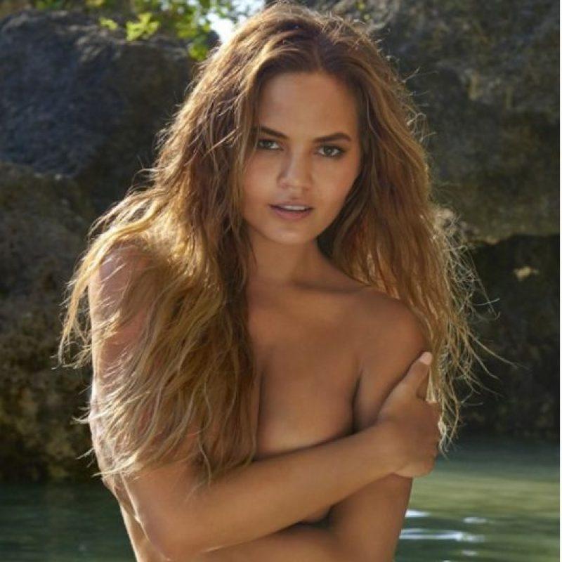 Chrissy Teigen. Foto:Vía Sports Illustrated