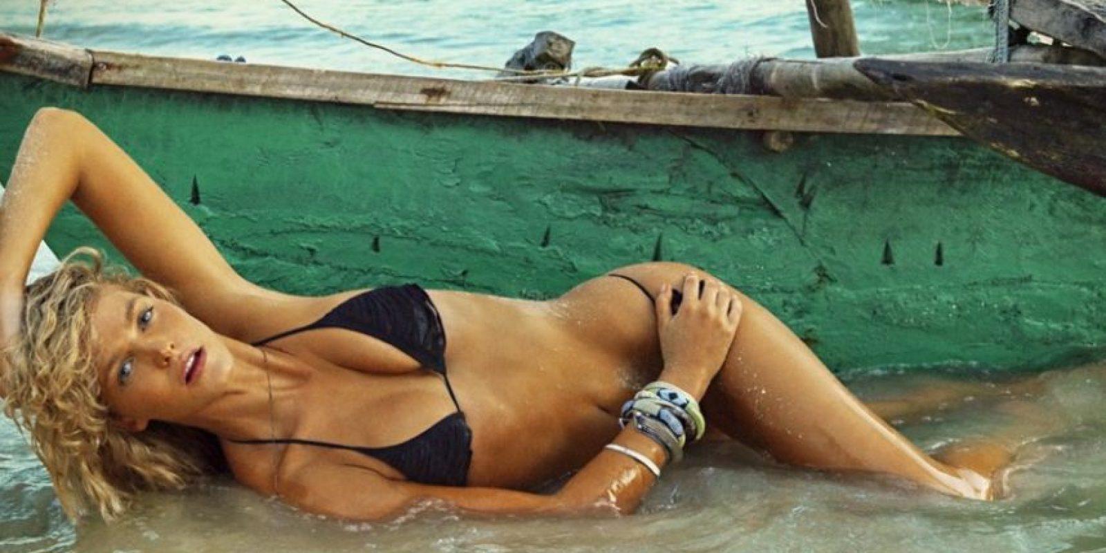 Erin Heatherton. Foto:Vía Sports Illustrated