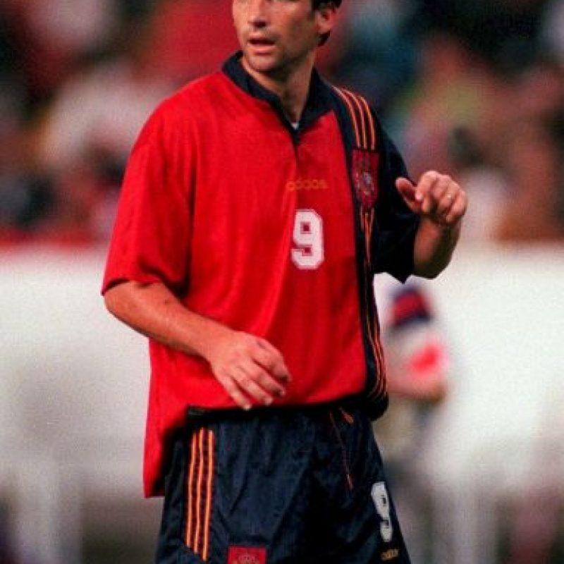Fue mundialista en 1998 con la Selección de España Foto:Getty Images