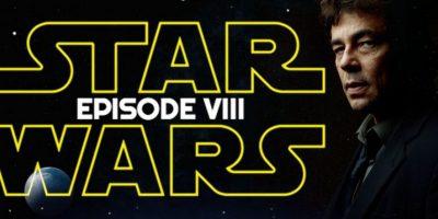 """Primeras imágenes de """"Star Wars VIII"""" confirman participación de Benicio del Toro"""