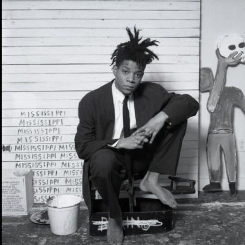 Y más allá de que lo comparen con el pintor Basquiat, ha colaborado con bandas como Disclosure. Foto:vía Twitter