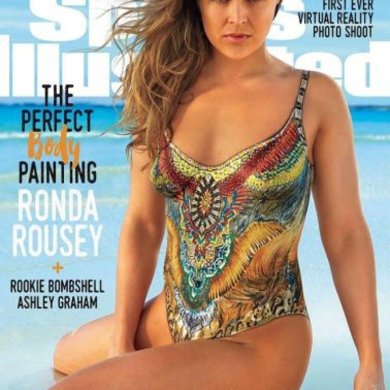 """Así apareció Ronda Rousey en la última edición de """"Sports Illustrated Swimsuit"""" Foto:Vía instagram.com/rondarousey"""