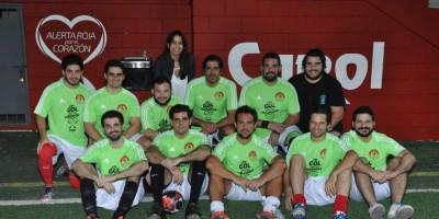 """Celebran torneo de fútbol: """"Un gol por tu corazón"""""""