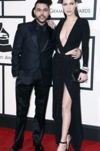 The Weeknd junto a Bella Hadid Foto:Metro Internacional