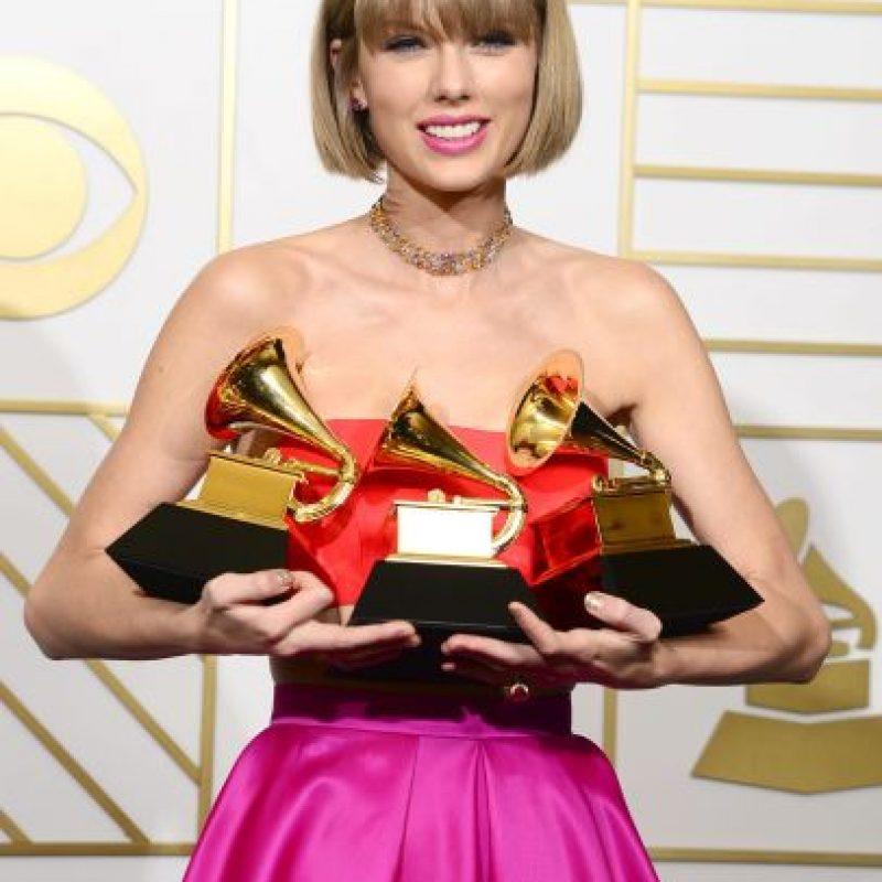 """Swift tuvo """"El álbum del año"""": """"1989"""". Foto:Metro Internacional"""