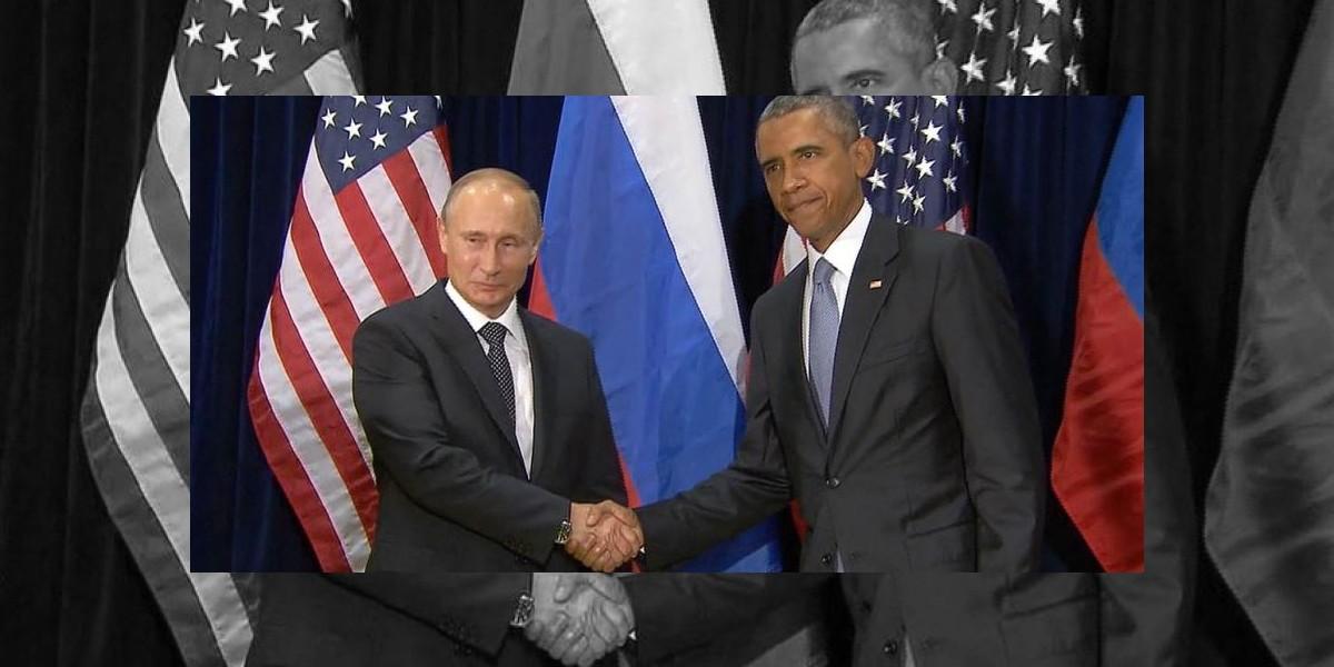 Obama y Putin por un alto al fuego en Siria